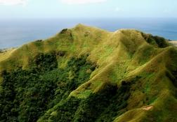 グアムの山の風景