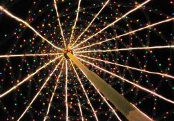 スキナーズプラザのクリスマスライト